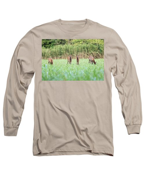 Elk Calves Long Sleeve T-Shirt
