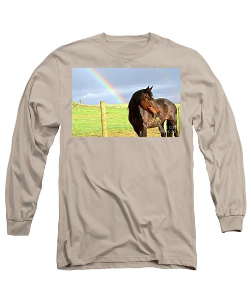 Ella And The Rainbows Long Sleeve T-Shirt