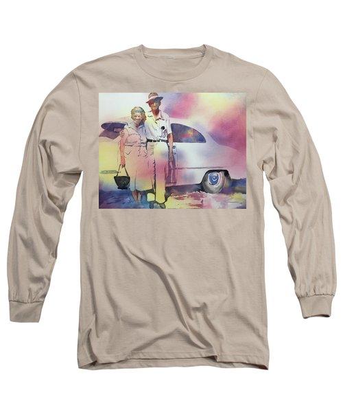 Elsie And Barney Shields Long Sleeve T-Shirt