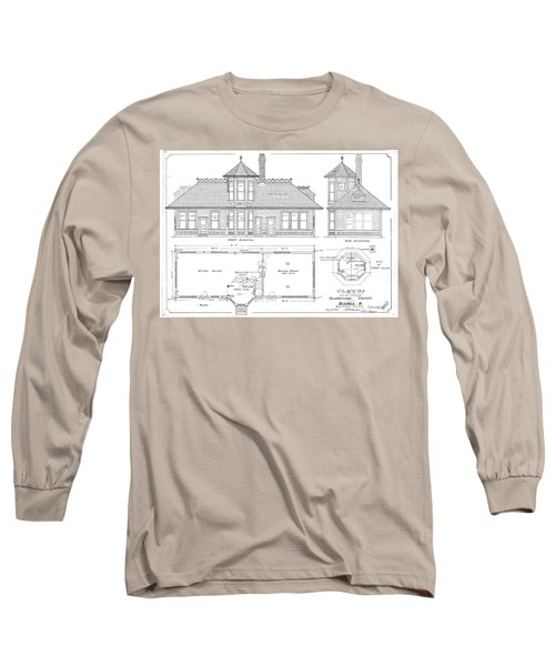 Elyria, Oh Station Long Sleeve T-Shirt