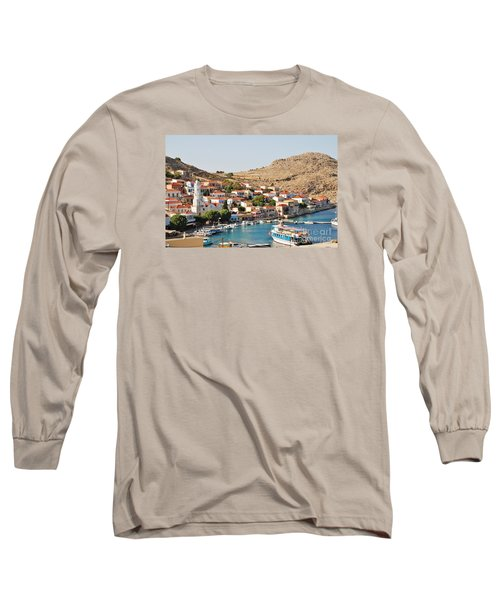 Emborio Village On Halki Long Sleeve T-Shirt