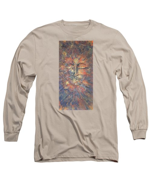 Emerging Buddha Long Sleeve T-Shirt by Theresa Marie Johnson