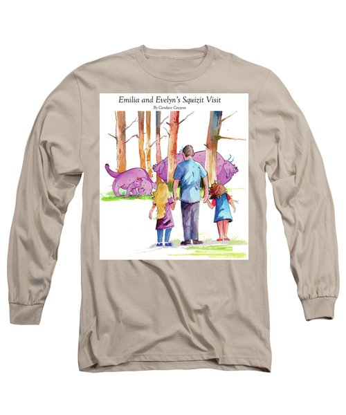 Emilia And Evelyn's Squizit Visit Long Sleeve T-Shirt