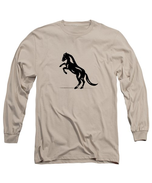 Emma - Abstract Horse Long Sleeve T-Shirt