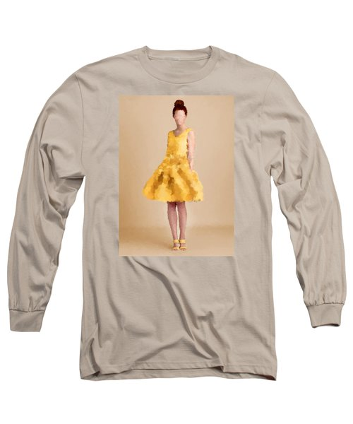 Long Sleeve T-Shirt featuring the digital art Emma by Nancy Levan