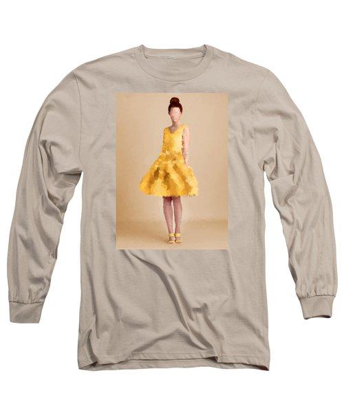 Long Sleeve T-Shirt featuring the digital art Emma by Nancy Levan