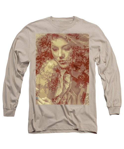 The State Of Emotion  Long Sleeve T-Shirt by Moustafa Al Hatter