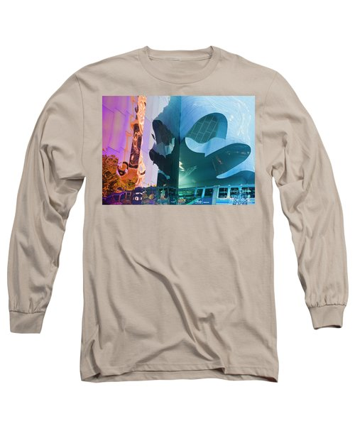 Long Sleeve T-Shirt featuring the photograph Emp Psychadelic by Chris Dutton
