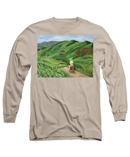 En El Campo A Caballo Long Sleeve T-Shirt