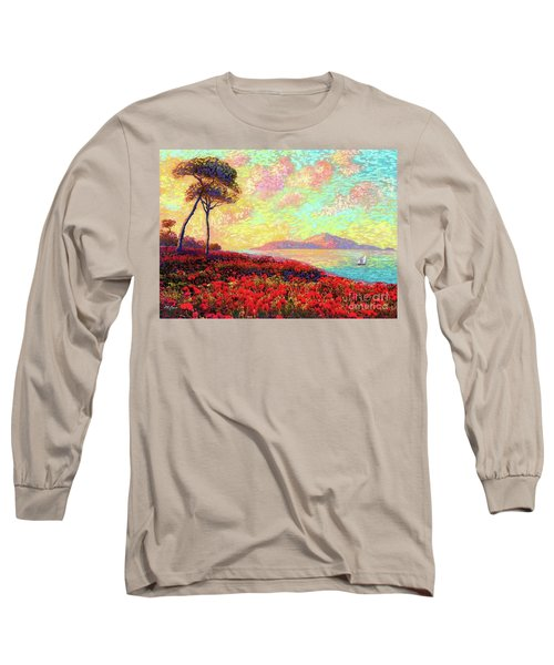 Enchanted By Poppies Long Sleeve T-Shirt