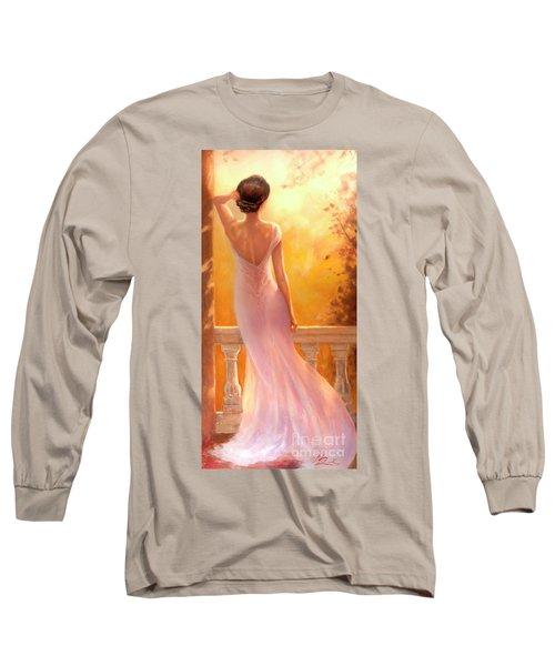 Enchanted Summer Long Sleeve T-Shirt by Michael Rock
