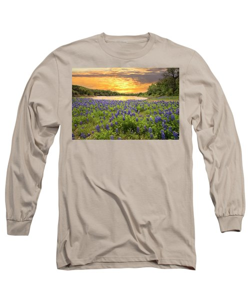 End Of A Bluebonnet Day Long Sleeve T-Shirt