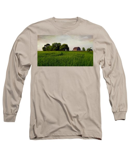 End Of Day Long Sleeve T-Shirt by Keith Armstrong