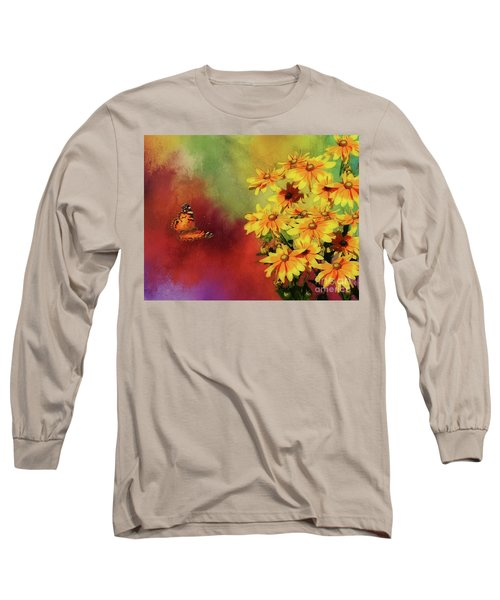 End Of Summer Long Sleeve T-Shirt by Suzanne Handel