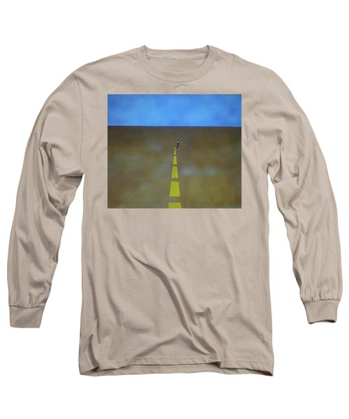 End Of The Line Long Sleeve T-Shirt by Thomas Blood