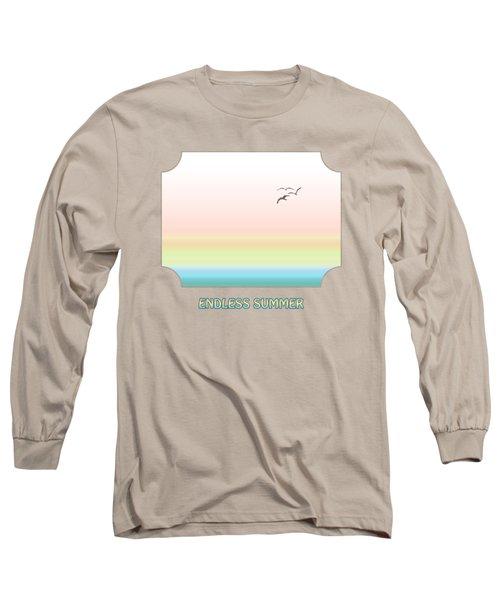 Endless Summer - Pink Long Sleeve T-Shirt