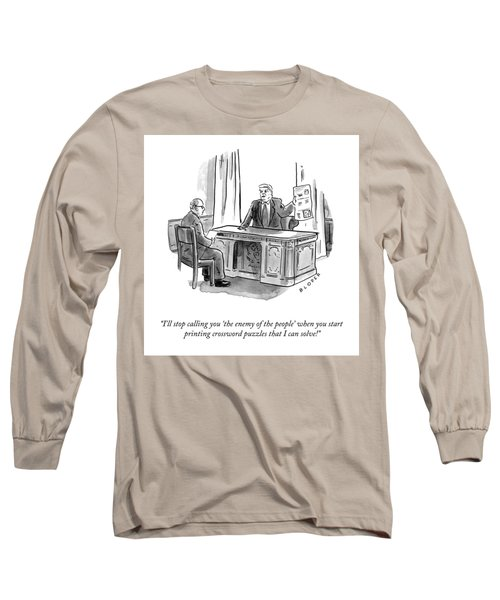 Enemy Of The People Long Sleeve T-Shirt