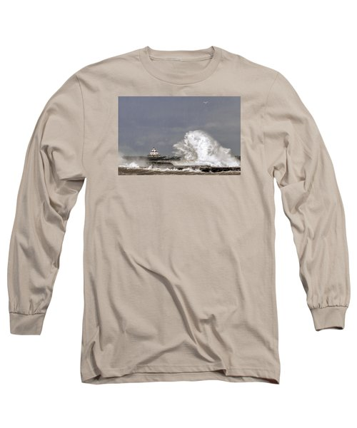 Energy Released Long Sleeve T-Shirt by Everet Regal