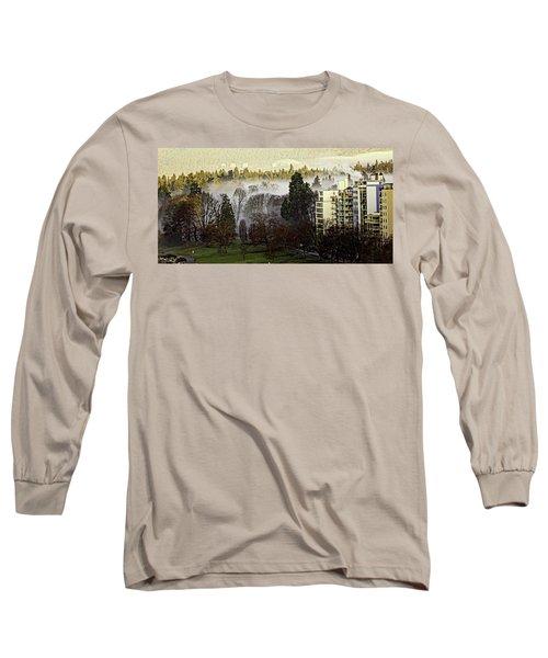 English Bay Fog #2 Long Sleeve T-Shirt