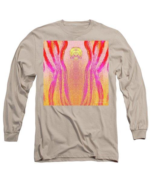 Equipoise Long Sleeve T-Shirt by Rachel Hannah