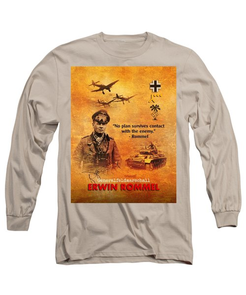 Erwin Rommel Tribute Long Sleeve T-Shirt