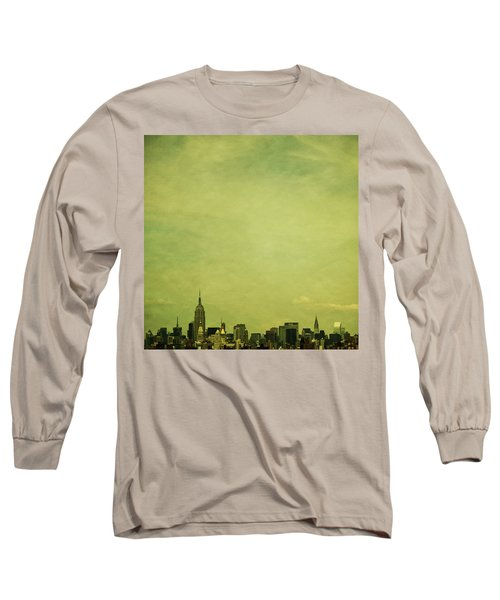 Escaping Urbania Long Sleeve T-Shirt by Andrew Paranavitana