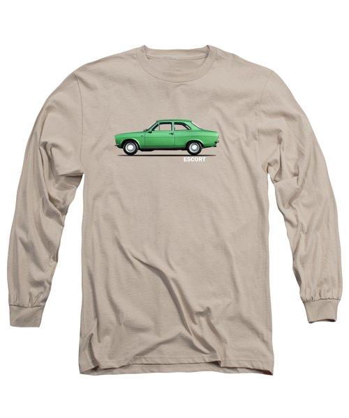 Escort Mark 1 1968 Long Sleeve T-Shirt by Mark Rogan