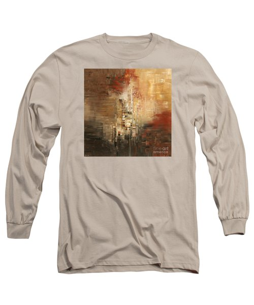 Long Sleeve T-Shirt featuring the painting Essential Connection by Tatiana Iliina