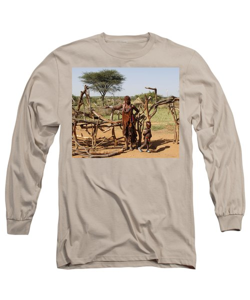 Ethiopia-south Mother And Baby No.2 Long Sleeve T-Shirt