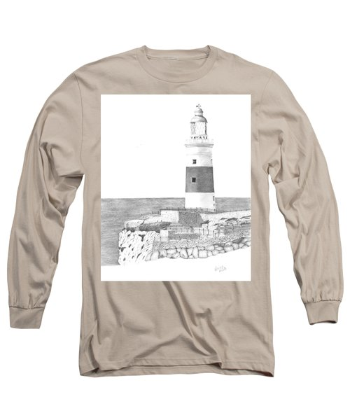 Europa Point Lighthouse Long Sleeve T-Shirt