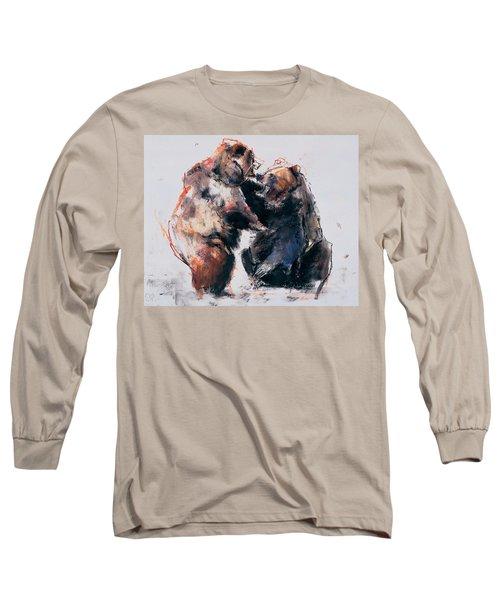 European Brown Bears Long Sleeve T-Shirt