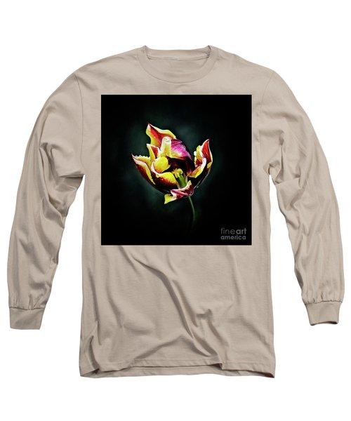 Evanescent Long Sleeve T-Shirt by Agnieszka Mlicka
