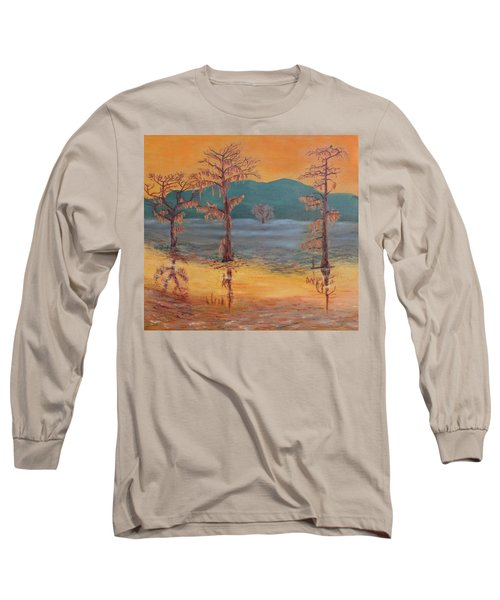 Evening On Caddo Lake Long Sleeve T-Shirt