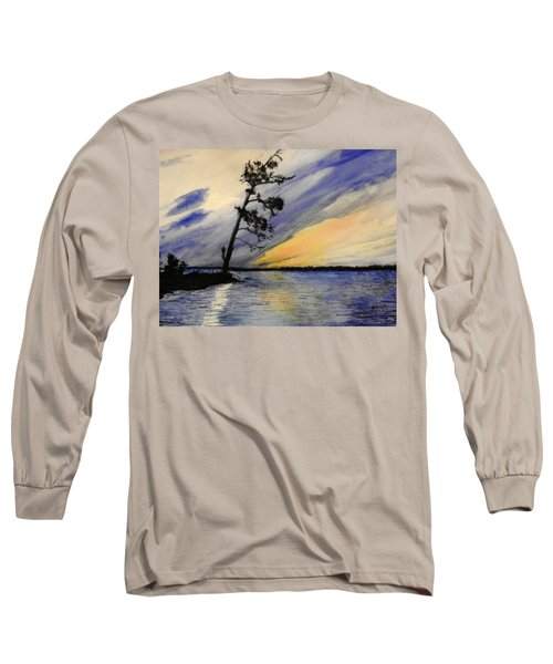 Evening At Petrie Island Long Sleeve T-Shirt by Betty-Anne McDonald