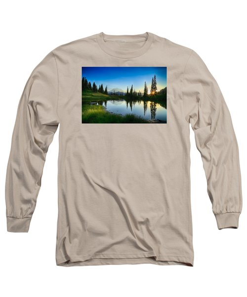 Evening At Tipsoo Long Sleeve T-Shirt