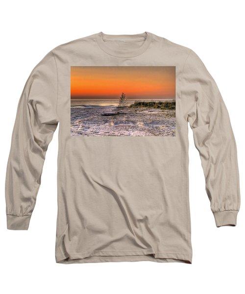 Evening Beach Glow  Long Sleeve T-Shirt