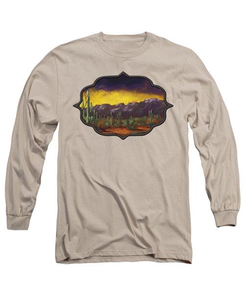 Evening Desert Long Sleeve T-Shirt