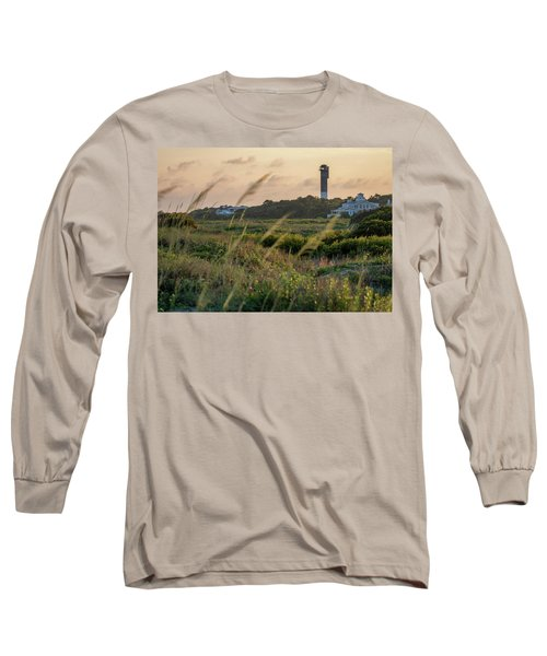 Evening Light Sullivan's Island Long Sleeve T-Shirt