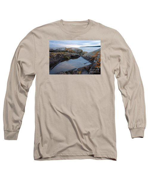 Long Sleeve T-Shirt featuring the photograph Evening Reflections by Sandra Updyke