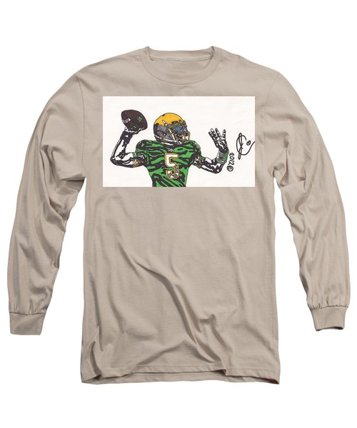 Everett Golson 1 Long Sleeve T-Shirt by Jeremiah Colley