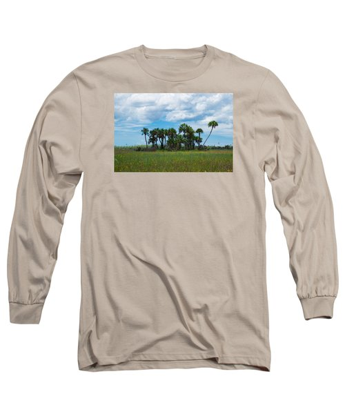 Everglades Landscape Long Sleeve T-Shirt by Christopher L Thomley