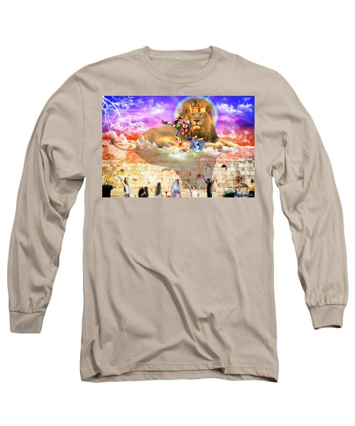 Long Sleeve T-Shirt featuring the digital art Every Tribe Every Nation by Dolores Develde