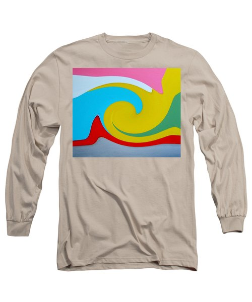 Everybody Has A Cousin In Miami Two Long Sleeve T-Shirt by Dick Sauer