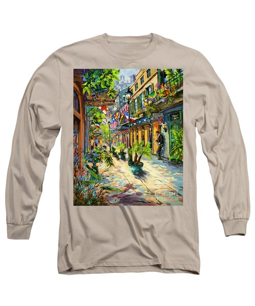 Exchange Alley Long Sleeve T-Shirt by Dianne Parks