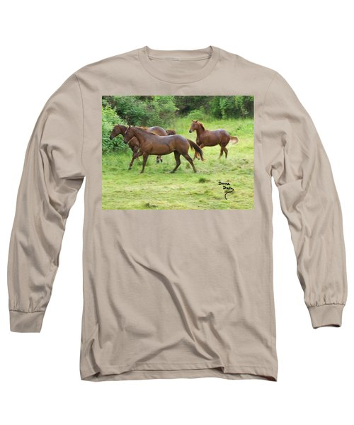 Excitement Before The Storm Long Sleeve T-Shirt