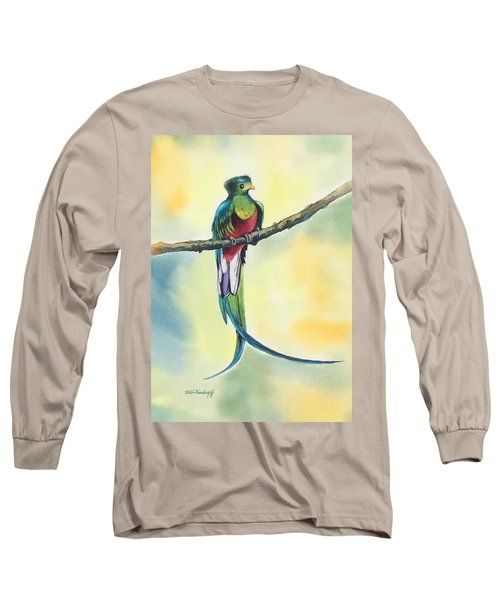 Exotic Bird Long Sleeve T-Shirt