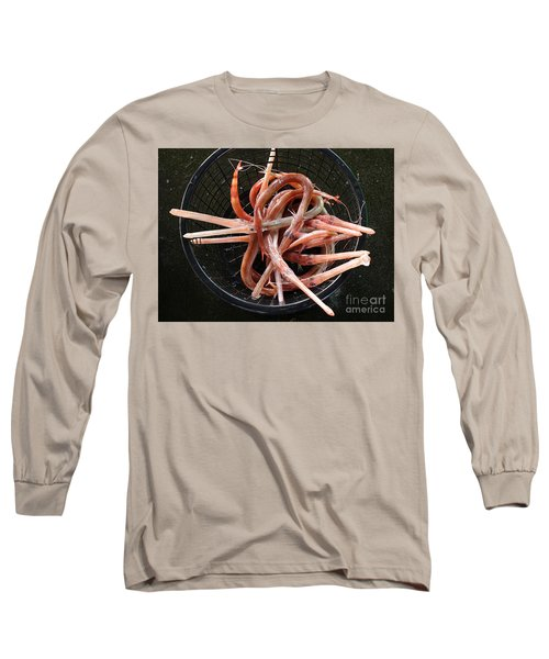 Exotic Chinese Trumpet Fish For Sale Long Sleeve T-Shirt by Yali Shi