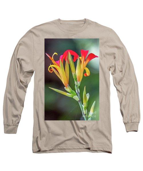 Exotic Flowers Long Sleeve T-Shirt