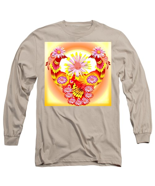 Exotic Peacocks Long Sleeve T-Shirt
