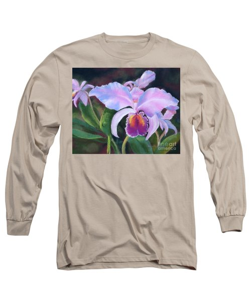 Exotic Pink Orchid Long Sleeve T-Shirt